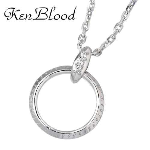 KEN BLOOD【ケンブラッド】 ネックレス レディース シルバー グラスフック 925 スターリングシルバー KB-KP-251
