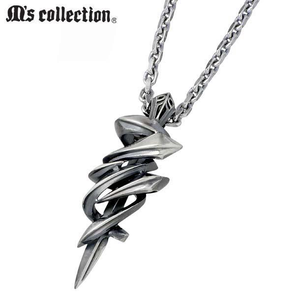 M's collection【エムズコレクション】 ネックレス メンズ シルバー 925 スターリングシルバー X0243