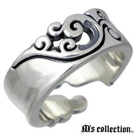 M's collection【エムズコレクション】 リング 指輪 レディース フェザー シルバー 7〜13号 ウイング 羽根 XR-008