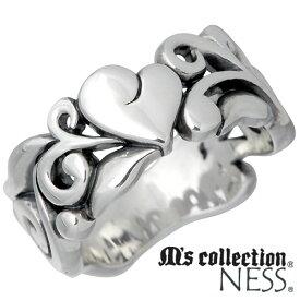 M's collection【エムズコレクション】 リング 指輪 レディース シルバー ハート 9〜13号925 スターリングシルバー L-718