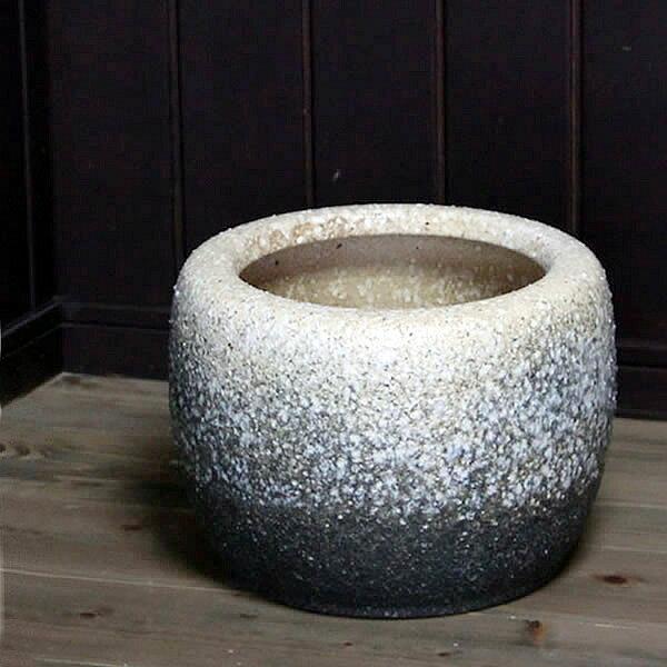 10号 火鉢 陶器 手あぶり 灰 和風 手焙 インテリア ひばち ヒバチ 信楽焼 火鉢 やきもの火鉢 【hi-0028】