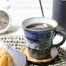 信楽焼 マグカップ 陶器 スープカップ おしゃれ 保温 かわいい 和食器 日本製 白 カップ 食器 やきもの コップ 焼き物 器 青空マグカップ w305-03