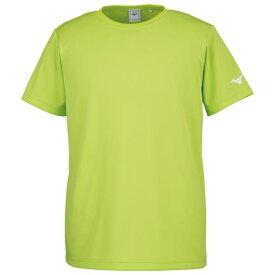 ミズノ Tシャツ ライムグリーン Mizuno 32JA8156 37