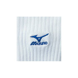 【在庫処分】ミズノ ソックス(21-25/バレーボール) ホワイト×R.ブルー Mizuno 59UF912 22 バレーボール ソックス
