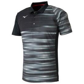 【在庫処分】ミズノ ゲームシャツ(ラケットスポーツ) ブラック Mizuno 62JA8011 09