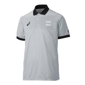 アシックス レフリーシャツ シルバーグレー asics XB8002 12