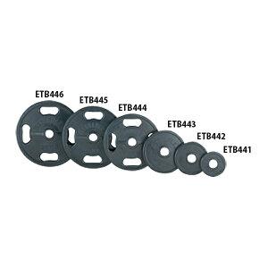 【送料無料】エバニュー 50φラバープレート15kg EVERNEW ETB445