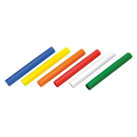 トーエイライト カラー6色プラバトン TOEILIGHT G1202 体育器具、用品 その他体育器具