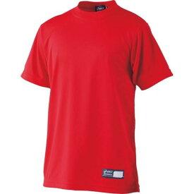 アシックス Jr.ベースボールTシャツ レッド asicsBB BAT01J 23