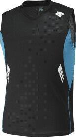 デサント 【メンズ ランニングウェア】 ランニングシャツ BKMR DESCENTE DRN4700 BKMR