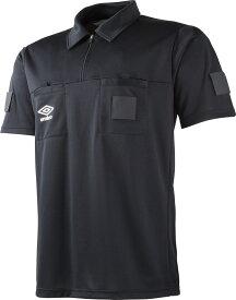 【送料無料】アンブロ S/Sレフリーシャツ UMBRO UAS6608 BLK