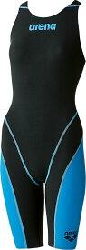 【今ならポイント15倍】アリーナ ジュニア(ガールズ) 競泳用水着(Fina承認) アクアフォース フュージョン2 arena ARN7010WJ BKBU