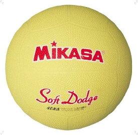 ミカサ ソフトドッジボール 0 号 イエロー MIKASA D0SOFT Y