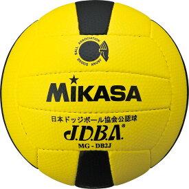 ミカサ ジュニア用ドッジボール 2 号 イエロー×ブラック MIKASA MGDB2J YBK