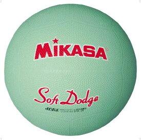 ミカサ ソフトドッジボール 2 号 グリーン MIKASA STD2R G