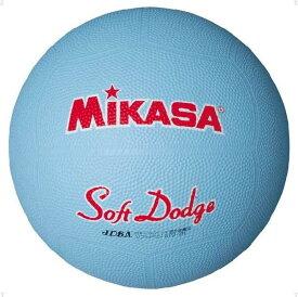 ミカサ ソフトドッジボール 2 号 サックス MIKASA STD2R SX