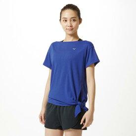 ミズノ Tシャツ[レディース] リフレックスブルー杢 Mizuno 32MA9315 25