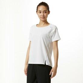 【在庫処分】ミズノ ドライエアロフローTシャツ[レディース] ホワイト Mizuno 32MA9316 01