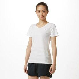 【在庫処分】ミズノ アイスタッチTシャツ[レディース] ホワイト Mizuno 32MA9321 01