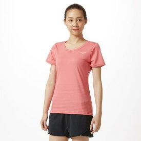 【在庫処分】ミズノ アイスタッチTシャツ[レディース] ティーローズ Mizuno 32MA9321 64