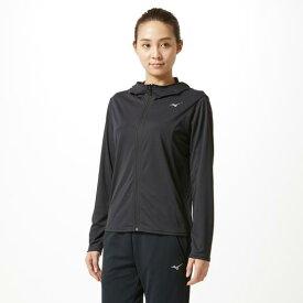 【在庫処分】ミズノ ソーラーカットジップTシャツ[レディース] ブラック Mizuno 32MA9341 09