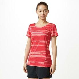 【在庫処分】ミズノ グラフィックTシャツ[レディース] キャバレー Mizuno 32MA9314 62
