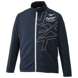 【在庫処分】【送料無料】ミズノ N-XTウォームアップジャケット[ジュニア] ドレスネイビー Mizuno 32JC9417 80
