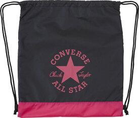 コンバース スポーツ バッグ ナップサック 星 かわいい アンクルパッチ ブラック×マゼンタ CONVERSE C1912090 1963