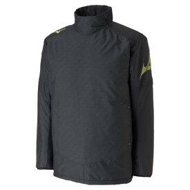 【在庫処分】【送料無料】ミズノ ウォーマーシャツ ブラック×セーフティイエロー Mizuno P2ME9520 94
