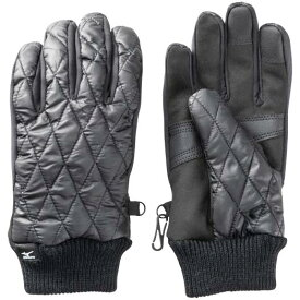 【在庫処分】ミズノ ブレスサーモ中綿手袋 メンズ ブラック Mizuno C2JY9637 09
