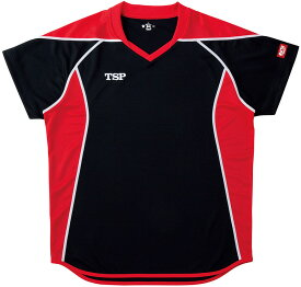 ティーエスピー ゲームシャツ エテルノシャツ 男女兼用・ジュニア ブラック TSP 031432 0020