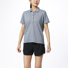 ミズノ ポロシャツ[レディース] グレー杢 Mizuno 32MA0380 05
