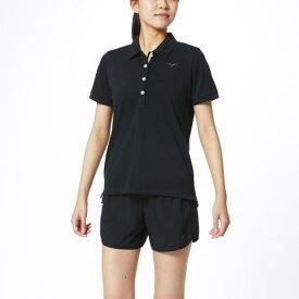 ミズノ ポロシャツ[レディース] ブラック Mizuno 32MA0380 09