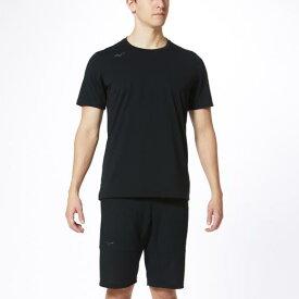 ミズノ Tシャツ メンズ ブラック Mizuno 32MA0023 09