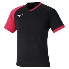 【送料無料】ミズノ ゲームシャツ(卓球) ブラック Mizuno 82JA0003 09