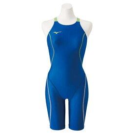 【送料無料】ミズノ 競泳用ハーフスーツ(レースオープンバック)[レディース] ブルー Mizuno N2MG0224 27