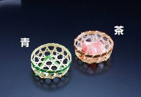 珍味篭 六ツ目丸 (茶) [W22525](竹籠(竹かご)/竹かご珍味入れ)