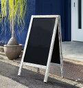 アンティーク調 木製A型看板 (W49520) (スタンド看板・サイン/メニュースタンド)