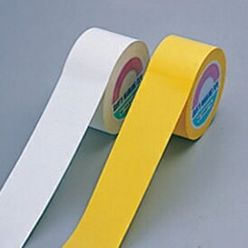 【送料無料♪】フロアマーキングテープ 100mm幅×33m カラー:黄 (各種テープ/フロアテープ)