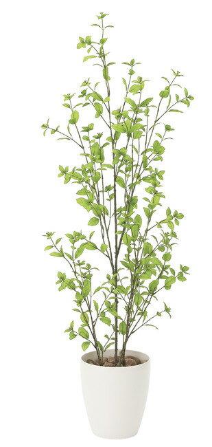 【送料無料】ユーカリ (人工観葉植物) 高さ130cm 光触媒 (店舗用品/光触媒 人工観葉植物・造花・フェイクグリーン/フロア(鉢型)用/125〜160cm)