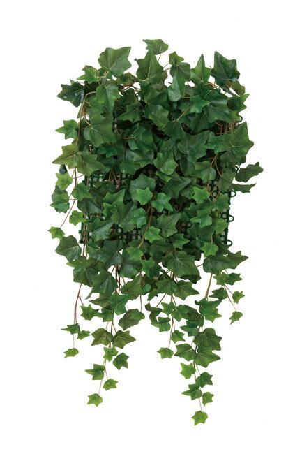 壁面緑化アイビー (壁掛け/壁面用人工観葉植物) 高さ65cm 光触媒 (442A68)(店舗用品/光触媒 人工観葉植物・造花・フェイクグリーン/壁掛け/壁面用)