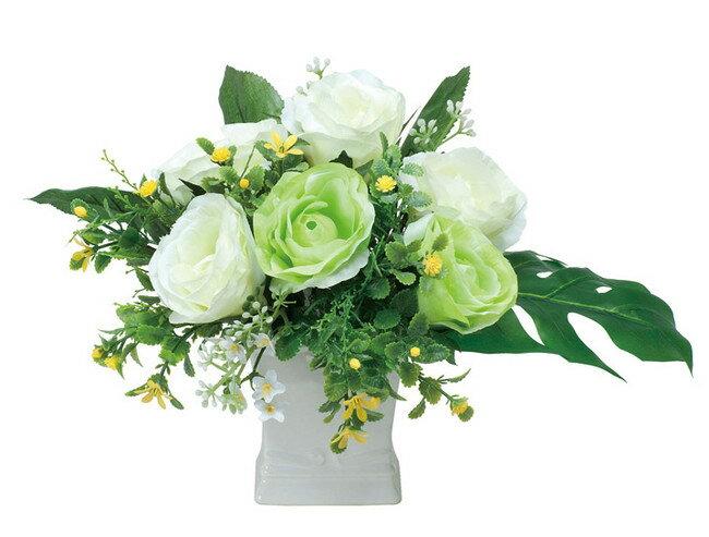 グリーンソフト (造花) 高さ20cm 光触媒 (店舗用品/光触媒 人工観葉植物・造花・フェイクグリーン/テーブル(卓上)向け)
