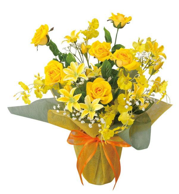 サンシルク (造花) 高さ45cm 光触媒 (店舗用品/光触媒 人工観葉植物・造花・フェイクグリーン/テーブル(卓上)向け)