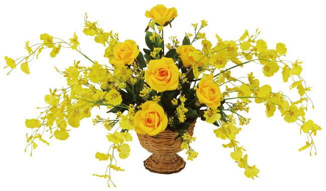 サンゴールド (造花) 高さ31cm 光触媒 (店舗用品/光触媒 人工観葉植物・造花・フェイクグリーン/テーブル(卓上)向け)