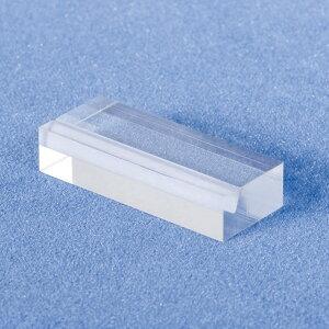 サイコロカード立 A592-1 透明(販促POP/カード立て/差し込み式)