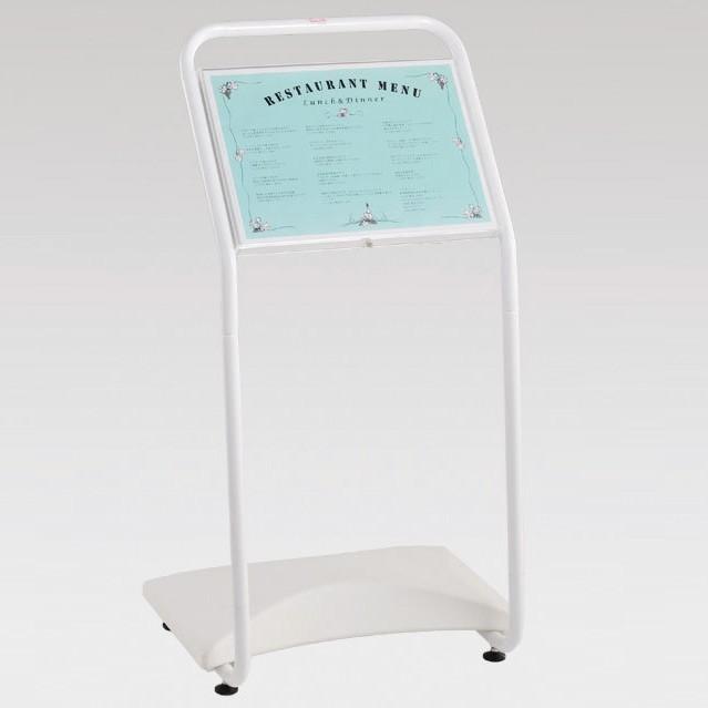 インフォメーションスタンド防雨タイプ (スタンド看板/メニュースタンド看板/屋外用スタンド)