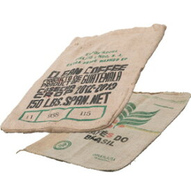 コーヒー麻袋(店舗用品/演出・ディスプレイ什器/木箱・ウッドディスプレイ)