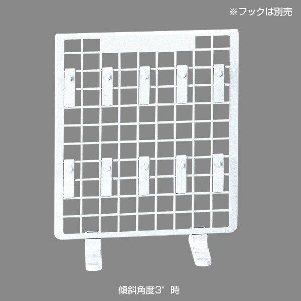 樹脂製卓上ネットスタンド 本体 白(店舗用品/陳列什器/ネット什器/ネットスタンド・ネットワゴン)