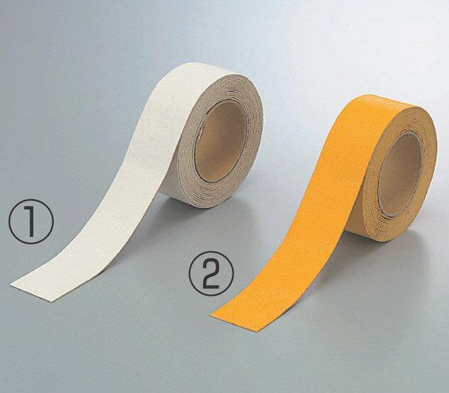 路面標識 道路標識 路面表示用品 路面貼用テープ (セパ付) 白 合成ゴム 50mm幅×5m巻 路面表示用品 路面標識 道路標識