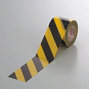 塩ビ・トラテープ (セパ無) 斜線タイプ 45mm幅×10m巻 (安全用品・標識/安全テープ)